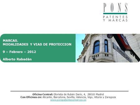 Propiedad industrial signos distintivos online ppt descargar for Oficina patentes y marcas barcelona