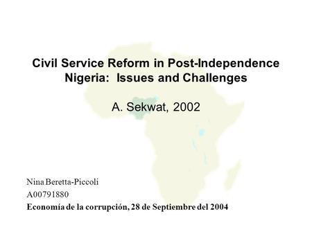 Akinola: Nigeria's history of corruption