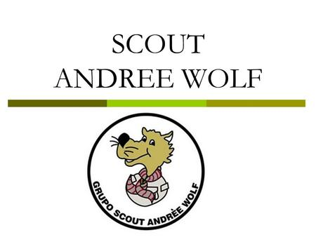 SCOUT ANDREE WOLF.
