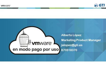 Alberto López Marketing Product Manager 670518370.