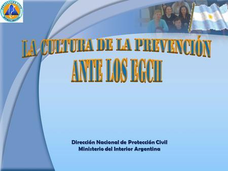 El impacto de la capacitacion en las organizaciones ppt for Ministerio del interior argentina