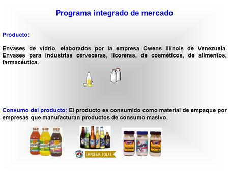 Programa integrado de mercado