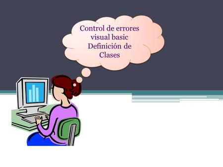 Control de errores visual basic