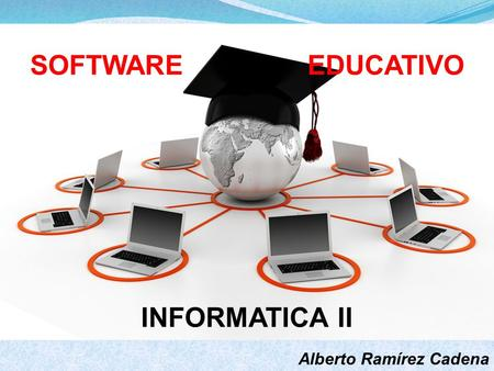 SOFTWARE EDUCATIVO INFORMATICA II