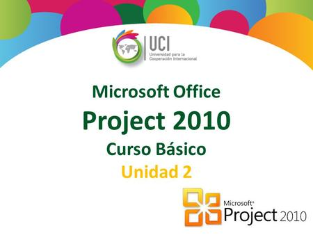 Microsoft Office Project 2010 Curso Básico