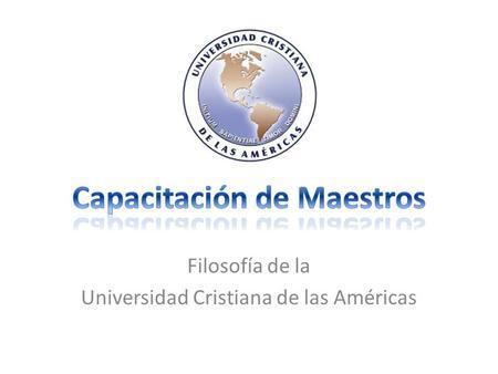 la universidad cristiana latinoamericana: