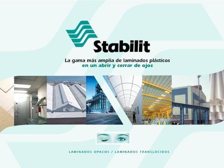 stabilit es una de las empresas ms importantes a nivel mundial en la fabricacin y