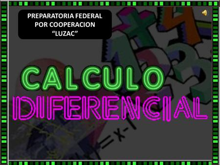 "PREPARATORIA FEDERAL POR COOPERACION ""LUZAC"""