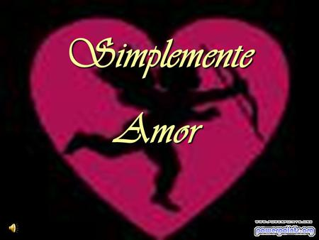 Simplemente Amor.
