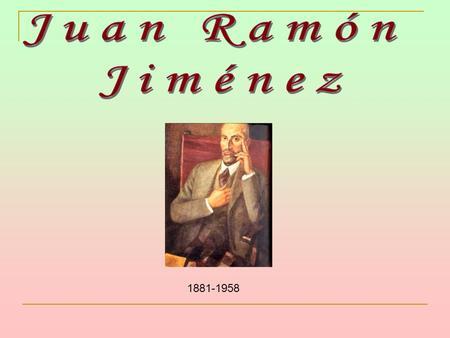 juan ramon jimenez soledad diario poeta recien casado: