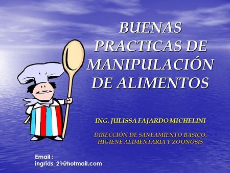 Buenas pr cticas de almacenamiento y de manipulaci n de alimentos ppt descargar - Higiene alimentaria y manipulacion de alimentos ...