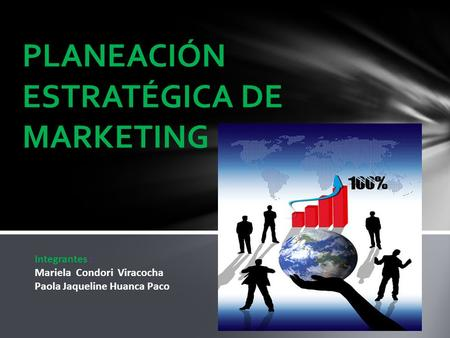 PLANEACIÓN ESTRATÉGICA DE MARKETING