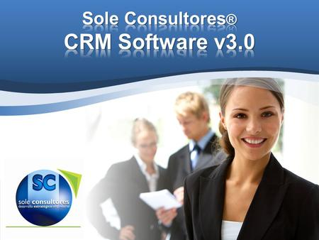 Sole Consultores® CRM Software v3.0