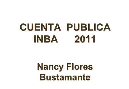 Nancy Flores Bustamante