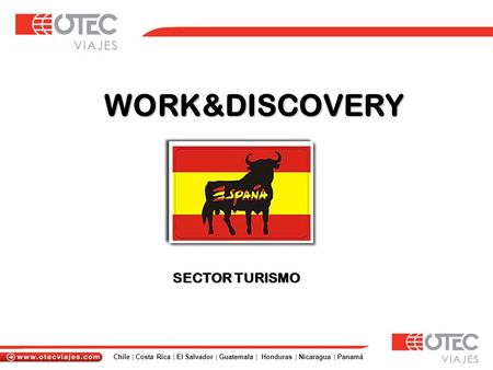 WORK&DISCOVERY SECTOR TURISMO