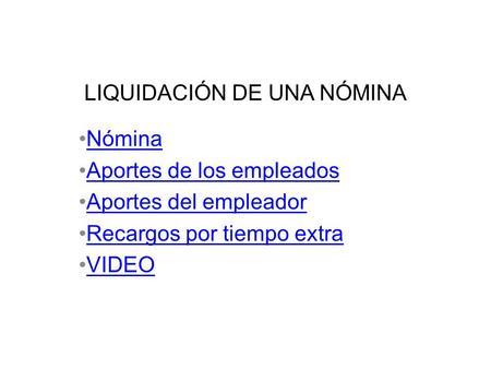 N mina n mina excel legislaci n laboral video sobre n mina for Liquidacion de nomina excel 2016