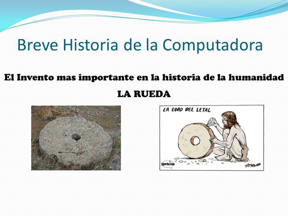 Breve Historia de la Computadora AUTO-VOLADOR
