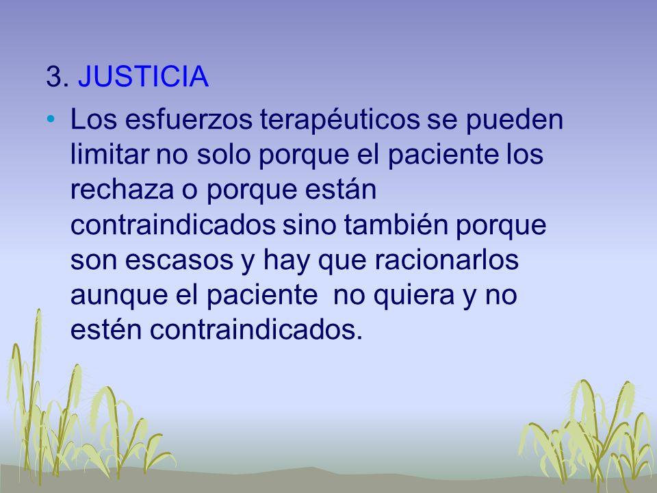CRITERIOS PARA APLICAR EL PRINCIPIO DE JUSTICIA 1.El racionamiento debe estar dado por las autoridades administrativas y aplicarse a todos por igual.