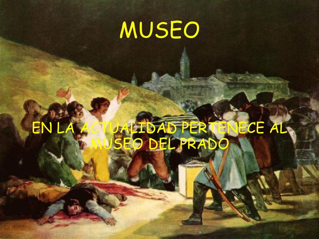FRANCISCO de GOYA (30-3-1746) - (15-4-1828) PERTENECIÓ A LA ÉPOCA DEL ROMANTICISMO