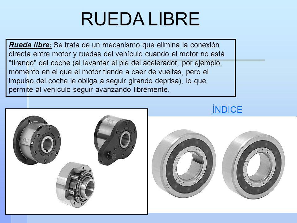 VOLANTE DE INERCIA Es un disco macizo que se monta en un eje con la misión de garantizar un giro regular.