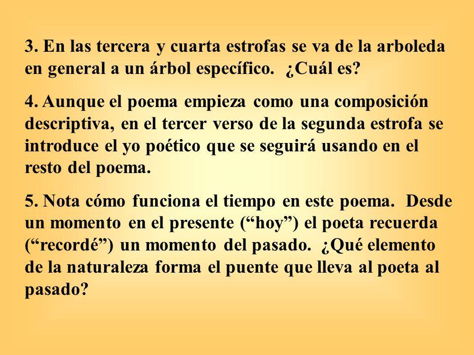 6.¿Qué recuerda el poeta de su pasado. ¿Por qué son tristes sus recuerdos.