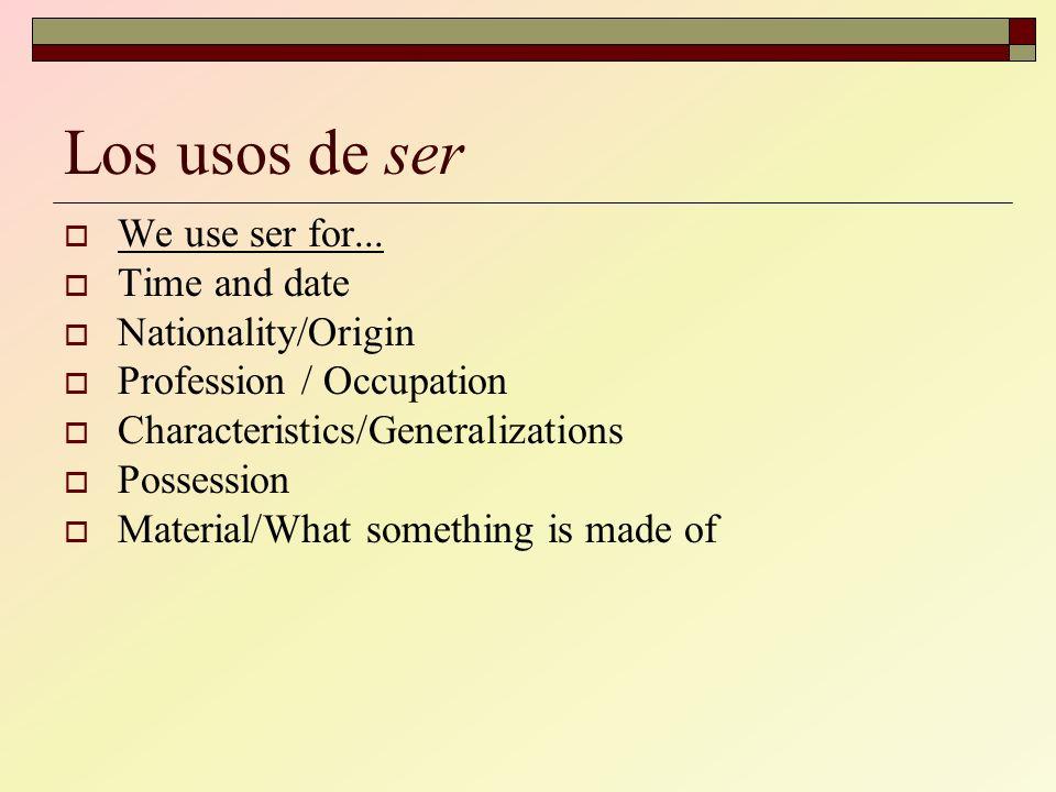 1) Identifica el sujeto de la oración 2) Completa la oración con la forma correcta de ser Maite ________ de España, ¿verdad.
