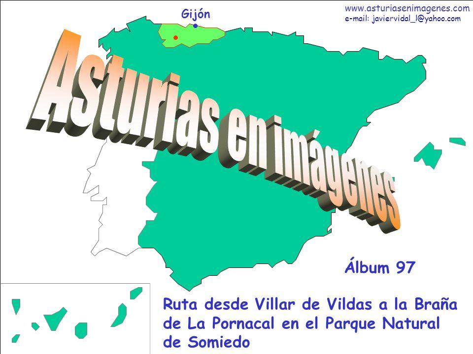 2 Asturias - Álbum 97 Fotografías: Javier Vidal http: asturiasenimagenes.com He decidido dedicar cuatro de los últimos álbumes de mi colección personal a fortalecer el atractivo natural con mis imágenes, del Parque Natural de Somiedo.
