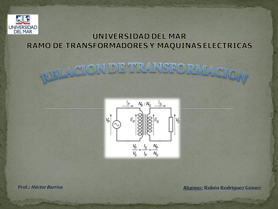 Alumno: Rubén Rodríguez Gómez Prof.: Héctor Barrios