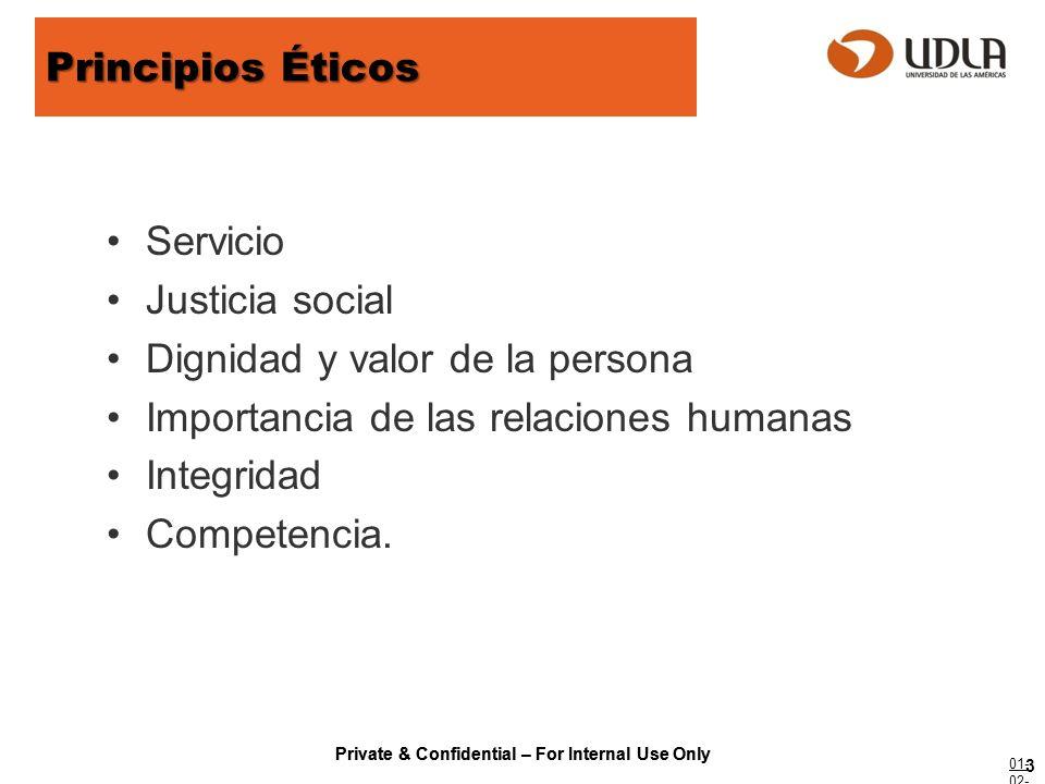 Private & Confidential – For Internal Use Only Normas Éticas (1) las responsabilidades éticas de los trabajadores sociales hacia los clientes, (2) las responsabilidades éticas de los trabajadores sociales hacia sus colegas, (3) las responsabilidades éticas de los trabajadores sociales en el marco del ejercicio de su profesión, (4) las responsabilidades éticas de los trabajadores sociales como profesionales, (5) las responsabilidades éticas de los trabajadores sociales hacia la profesión del trabajo social, (6) las responsabilidades éticas de los trabajadores sociales hacia la totalidad de la sociedad.