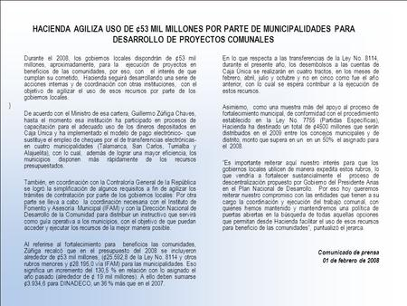 hacienda modulo 2007: