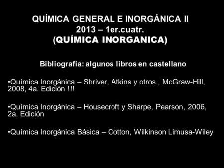 QUIMICA INORGANICA SHRIVER PDF ATKINS