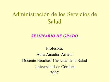 gerencia educativo tesis grado: