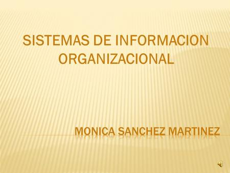 MONICA SANCHEZ MARTINEZ