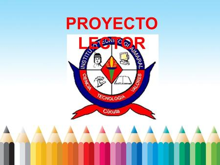 PROYECTO LECTOR.