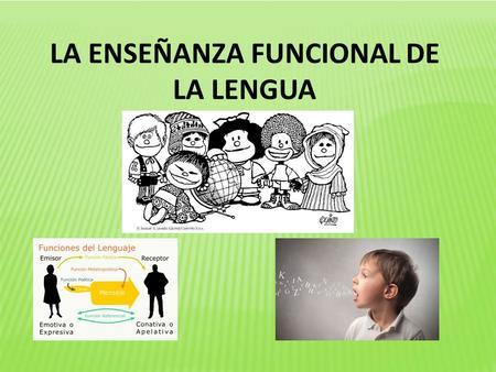 la teoria linguistica a la ensenanza de la lengua: