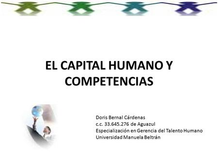 EL CAPITAL HUMANO Y COMPETENCIAS