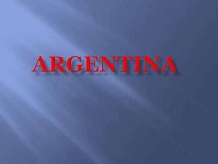 Argentina is a long country stretching from the subtropics along the northeastern border with Brazil to the subpolar regions of Tierra del Fuego in the.