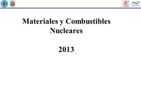 Materiales y Combustibles