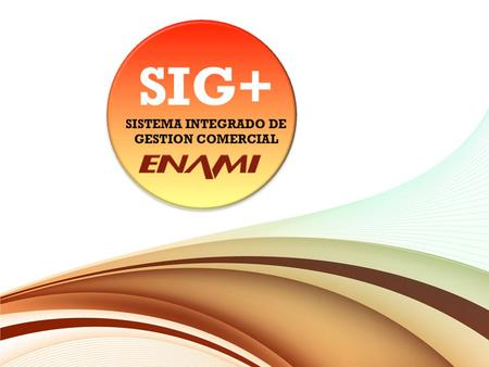 SISTEMA INTEGRADO DE GESTION COMERCIAL