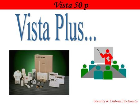 Vista 50 p Honeywell Vista Plus... Security & Custom Electronics.