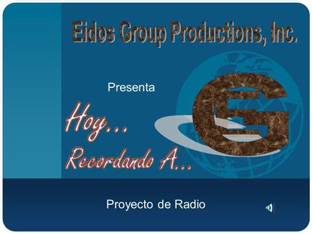 Eidos Group Productions, Inc.