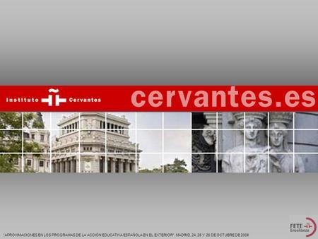 Perspectiva de la calidad en las universidades espa olas for Accion educativa espanola en el exterior
