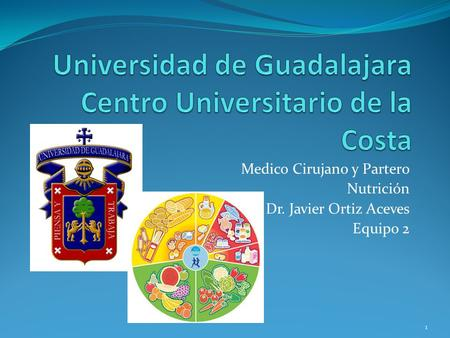Universidad de Guadalajara Centro Universitario de la Costa
