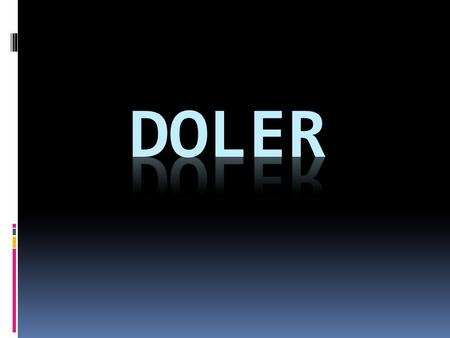"Doler = ""to hurt"" *Remember, this verb is used just like ""gustar""  A mí me duele (one body part)  A mí me duelen (plural body parts) A mí me duele la."