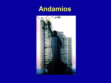 Andamios 1926 Subpart L - Scaffolding