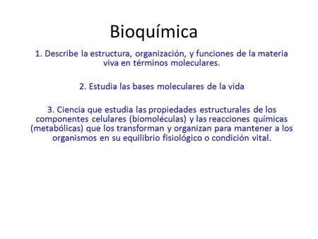 Bioquimica las bases moleculares de la vida mckee