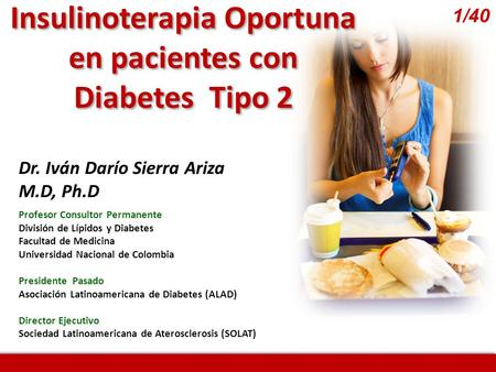 Insulinoterapia Oportuna
