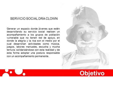 SERVICIO SOCIAL DRA CLOWN