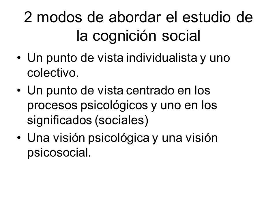 ¿Por qué es social la cognición.