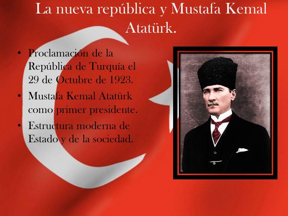 El nuevo Estado Turco: principales reformas.Abolición del Califato y Cortes de la Sharia.